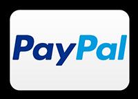 Bezahlen Sie bequem bargeldlos mit PayPal.