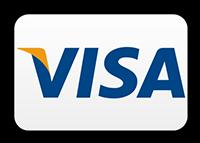 Bezahlen Sie bequem bargeldlos mit VISA.